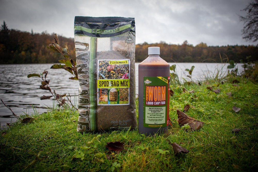 grubby groundbait and worm liquid