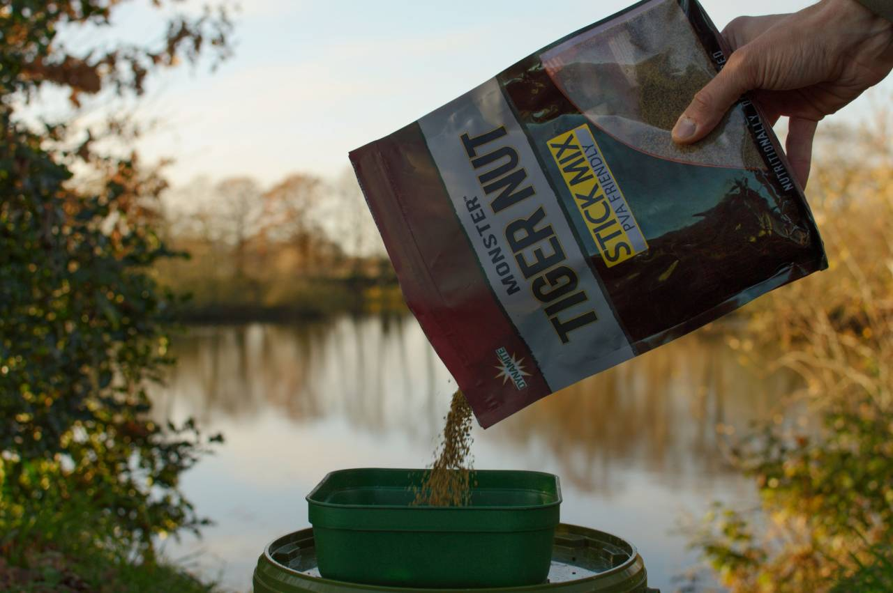 monster tiger nut stick mix to pva bags