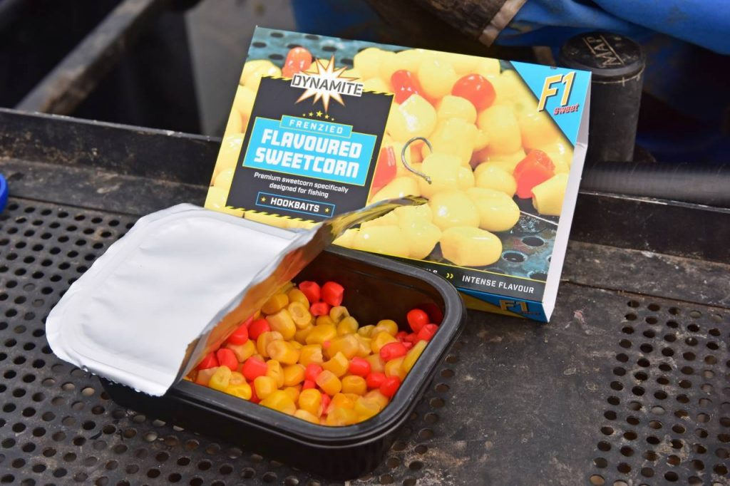 F1 corn open with packet