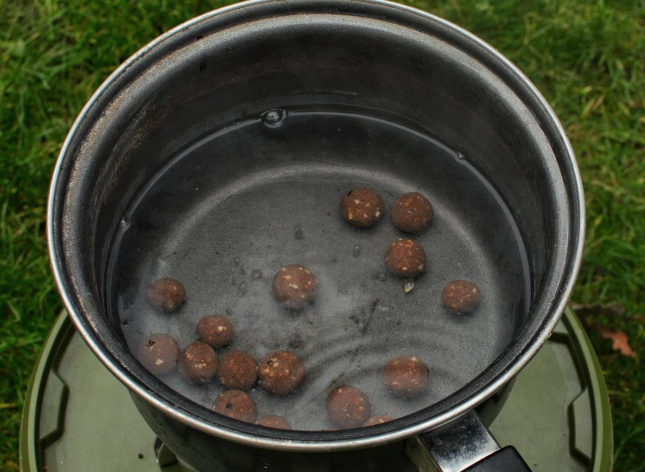 boiling rolled hookbaits