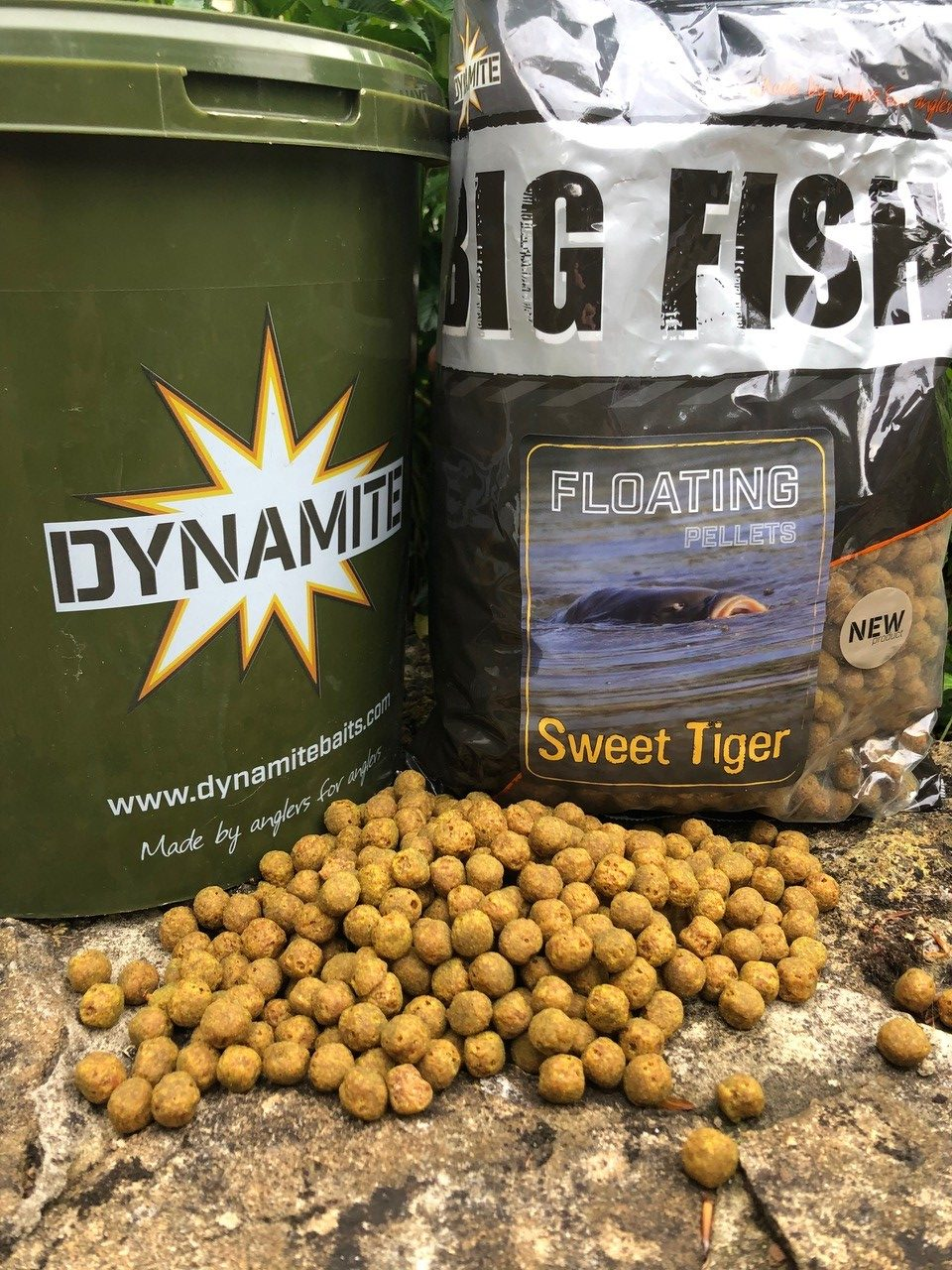 sweet tiger floating pellets for carp