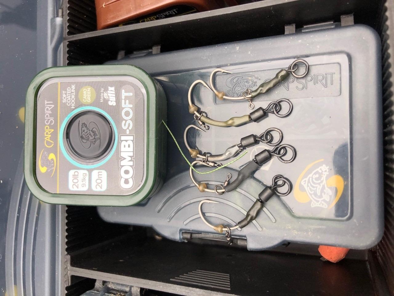 tied up carp rigs