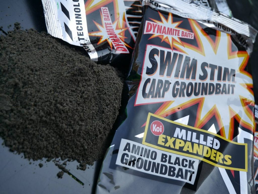 amino black swimstim milled expander groundbait