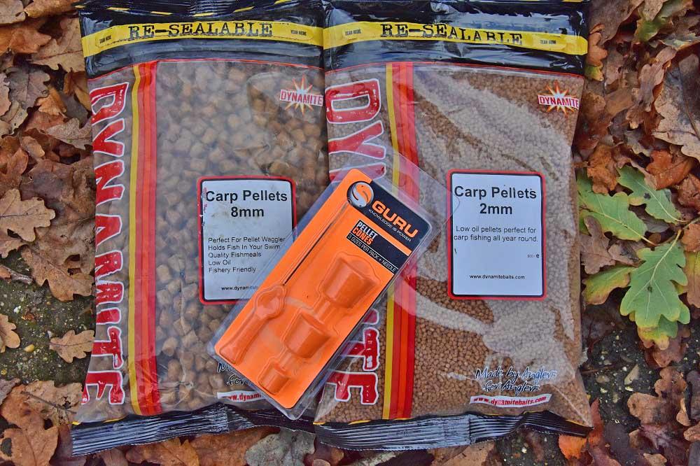 dynamite carp pellets