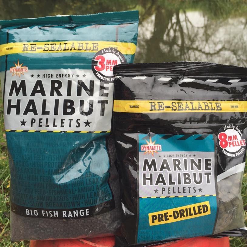 marine halibut pellets for barbel fishing