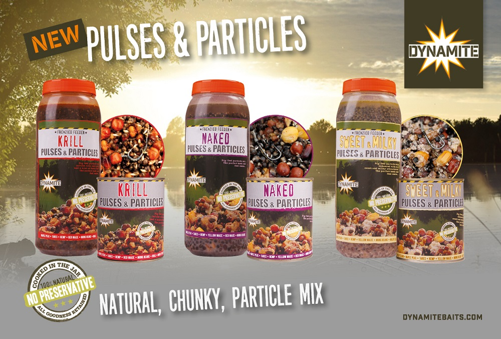 pulses and particles carp bait