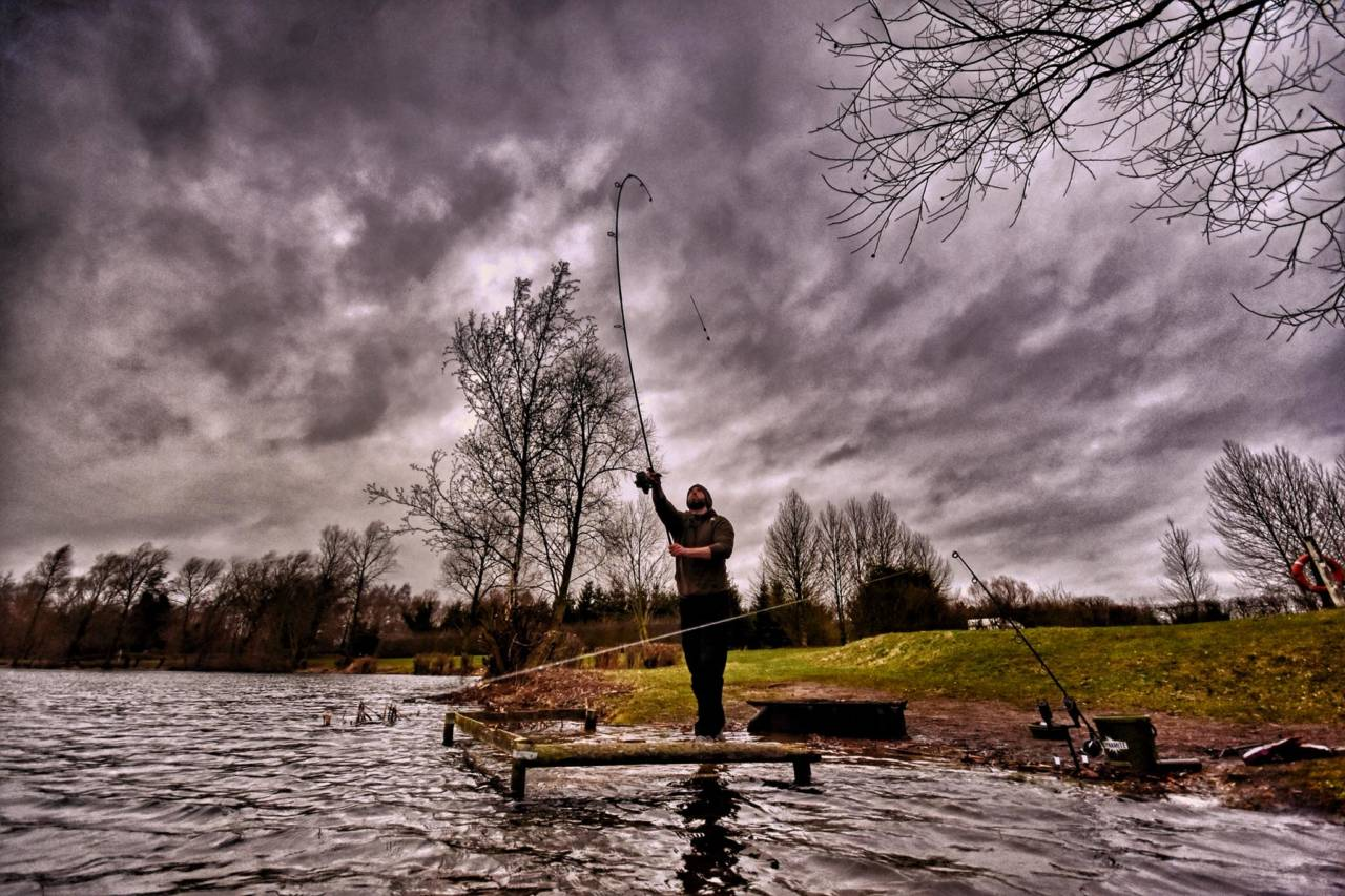 Matt Povey staying mobile will help you locate the carp