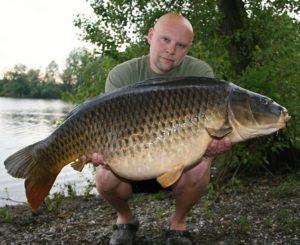 21kg carp for Radek Bis from Italian stillwater