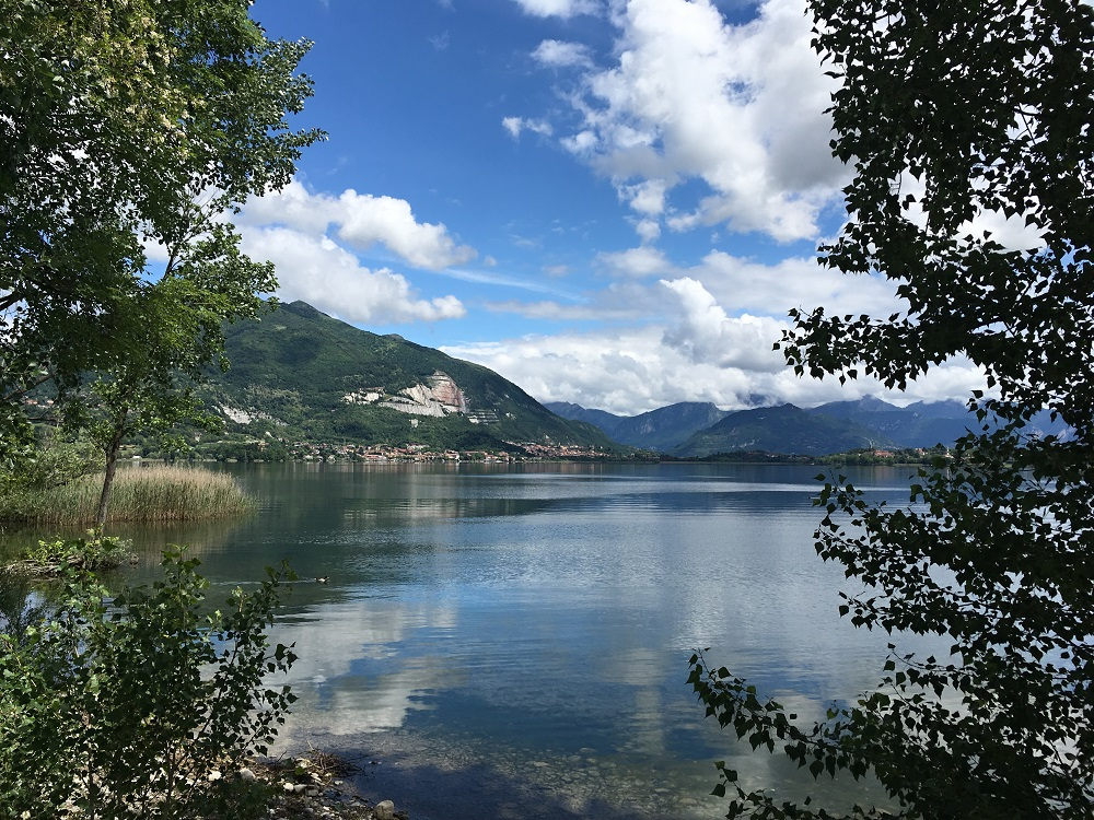 Italian Lake Lago di Pusiano carp fishing